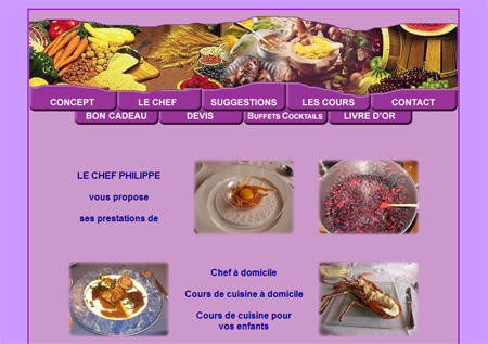 Exemple de creation site Internet Reims